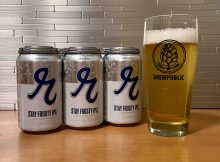 Stay Frosty IPA, a new Cold IPA, is the latest seasonal offering from Reuben's Brews.