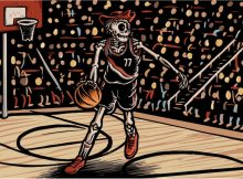 The special new Moda Center-exclusive Ripe label will feature GN's iconic skeleton character Moss gracing the label playing basketball on cans all season-long at the Moda Center.