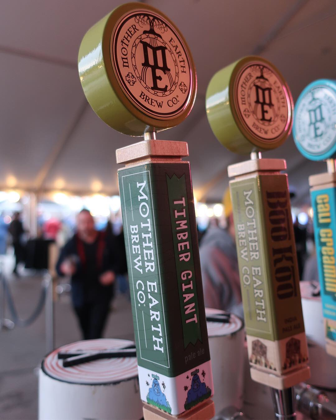 Timber Giant, the official beer of the 2019 Treefort Music Fest brewed by Mother Earth Brewing.