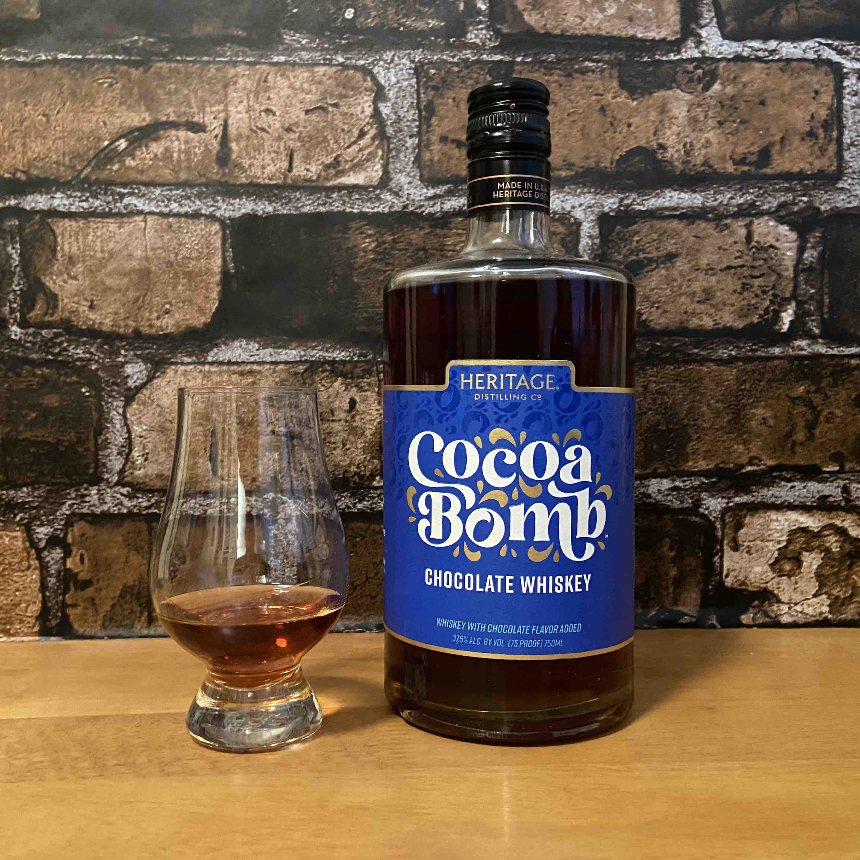Whiskey Wednesday with Cocoa Bomb from Heritage Distilling Co.