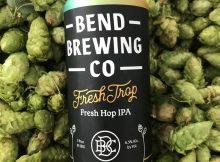 image of Fresh Trop Fresh Hop IPA courtesy ofBend Brewing Company
