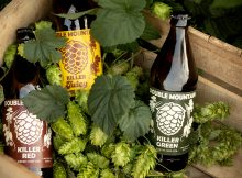 image of Killer Green, Killer Red, and Killer Juicy courtesy of Double Mountain Brewery