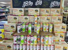 image of Suzie's Organic Hard Seltzer at Trader Joe's courtesy of Suzie's Brewery Company