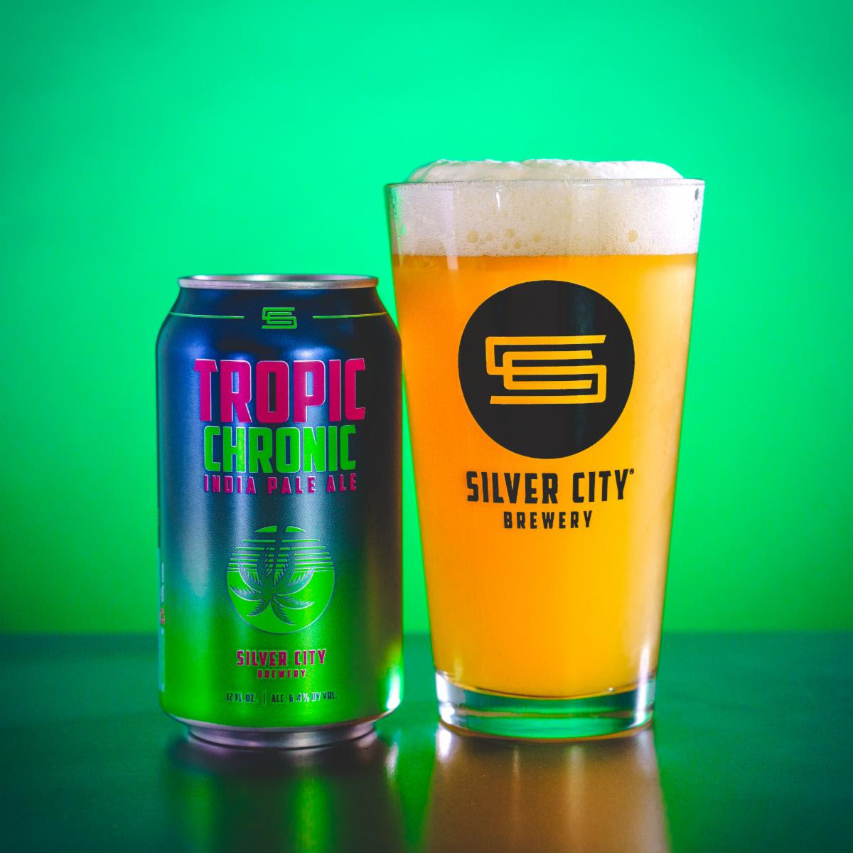 image of Tropic Chronic IPA courtesy of Silver City Brewery
