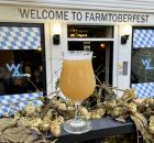 A Wolf of Wheat from Wolves & People Farmhouse Brewery at Function PDX as it hosts Farmtoberfest during the month of October 2021.