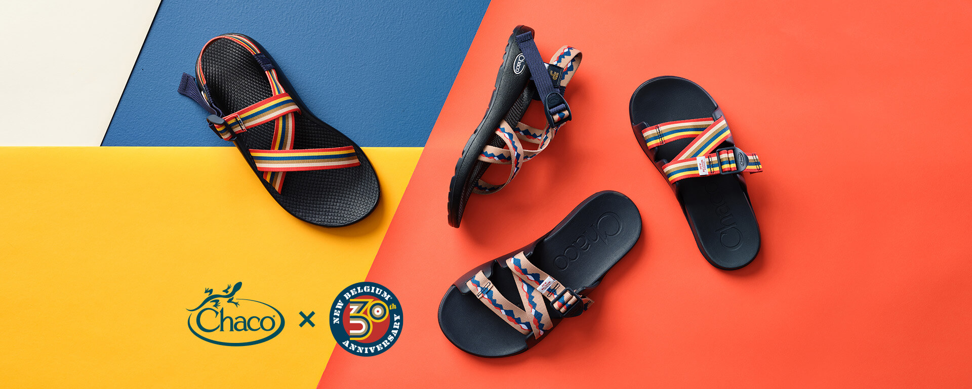 In Celebration of 30 Years New Belgium Brewing Collabs with Chaco Footwear