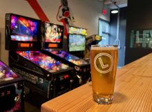 Pinball and beer is an excellent choice at the newly opened Level 3 Taproom.