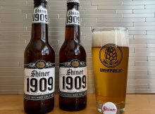 The new Shiner 1909 Heritage Lager is a fine example of a pre-prohibition American lager.