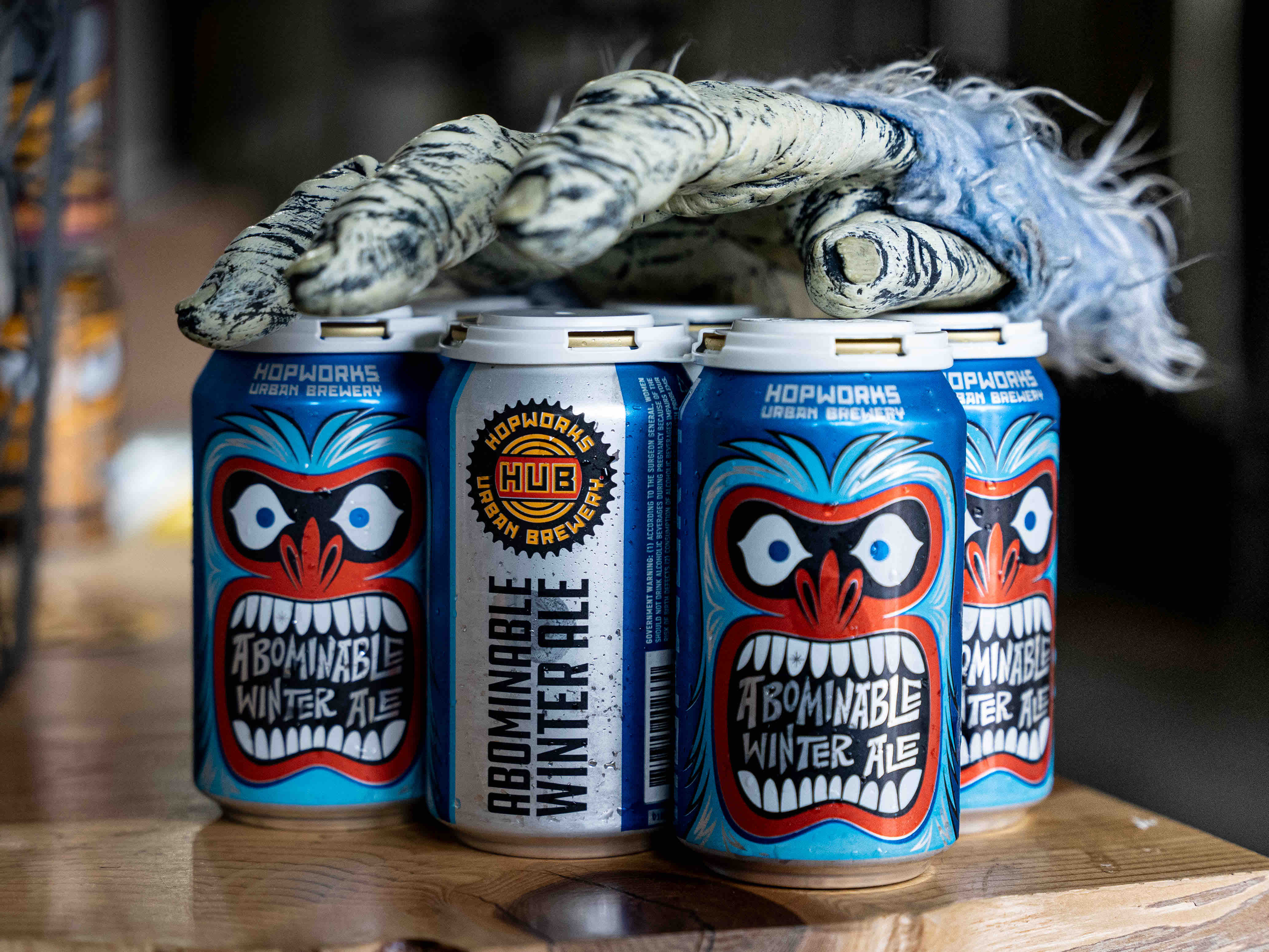 image of Abominable Winter Ale courtesy of Hopworks Urban Brewery