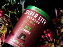 image of Old Scrooge Christmas Ale courtesy of Silver City Brewery