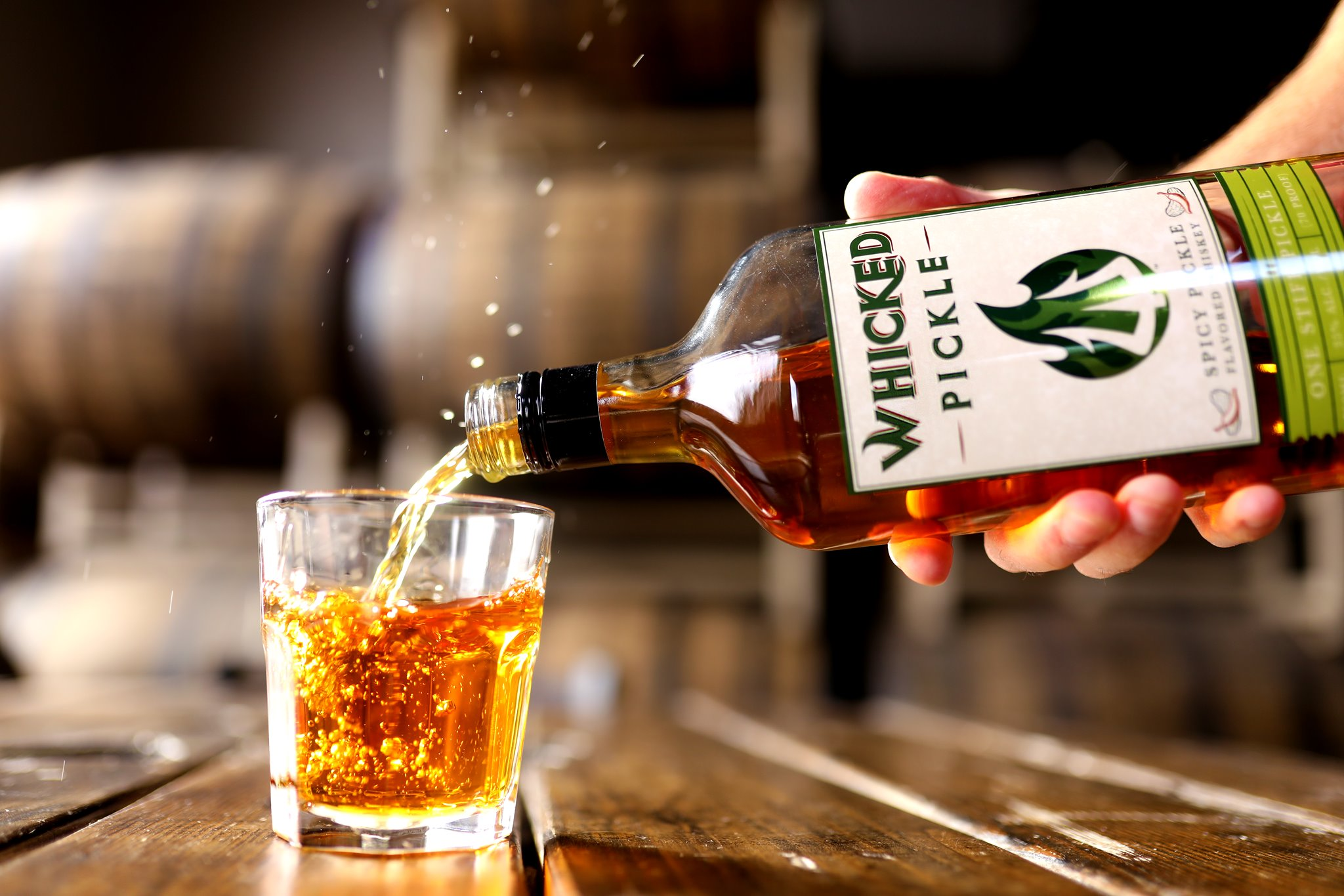 image of Whicked Pickle courtesy of Holladay Distillery